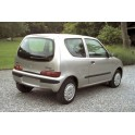 ATTELAGE FIAT SEICENTO 1998-2003 - RDSO Demontable sans outil - BOSAL