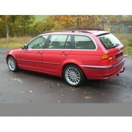PACK ATTELAGE BMW Serie 3 Break 09/1999-09/2005 (Touring) incl. 4X4 (E46) Sauf pare choc M - Col de cygne - BOSALel
