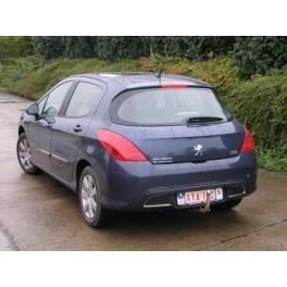 ATTELAGE PEUGEOT 308 CC 2009- (Coupe Cabriolet) - RDSO Demontable sans outil - BOSAL