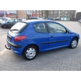 PACK ATTELAGE PEUGEOT 206 GTi 1998-2009 (incl. Cabrio, XS, 16V, 206CC) - Col de cygne - BOSAL