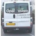 ATTELAGE RENAULT Trafic 2001-09/2006 (Fourgon Minibus (X83) - rotule equerre - BOSAL
